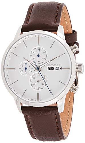 Gant Reloj Analógico para Hombre de Cuarzo con Correa en Cuero 7630043923658