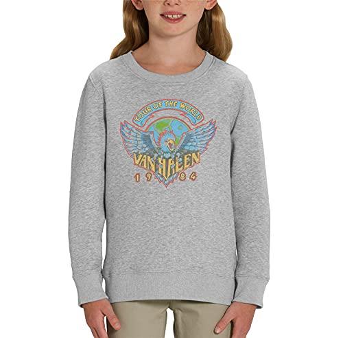 Kids Van Halen 1984 Tour of the World Sweatshirt, S to XL