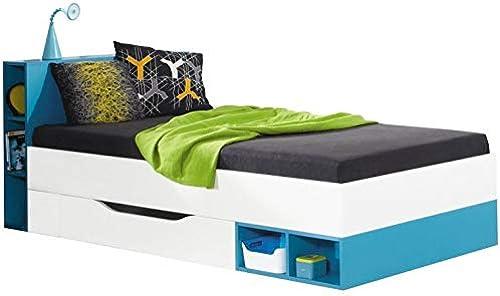 House and Garden Jolly Kinderbett mit Schublade, Blau