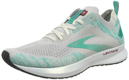 Brooks Levitate 4, Zapatillas para Correr para Mujer, Antarctica Atlantis White, 37.5 EU