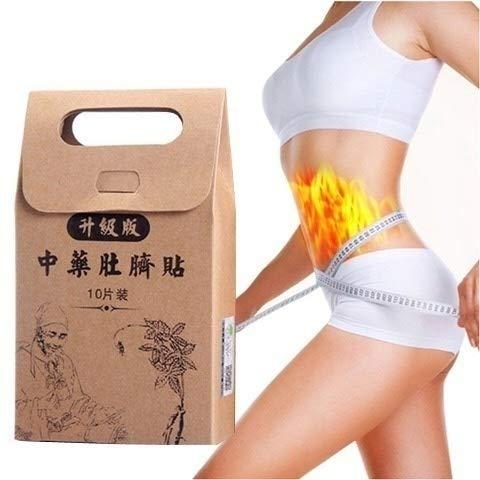 2018 hete verkoop Chinese Geneeskunde Afslanken Diëten Gewichtsverlies Sterkste Slim Patch Pads Detox Lijm Sheet 10 stks/zak