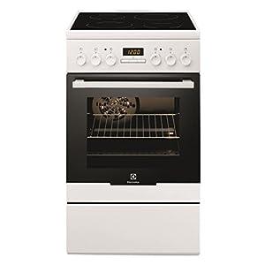 Electrolux - Cuisinière Vitrocéramique ELECTROLUX EKC54350OW