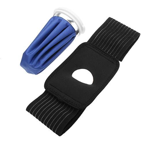 LYYCEU Eisbeutel-Packschmerzlinderung Frigid umfangreiche Knieschulter Verletzungen Therapieband Wickel Elastische Krawatte Gürtel