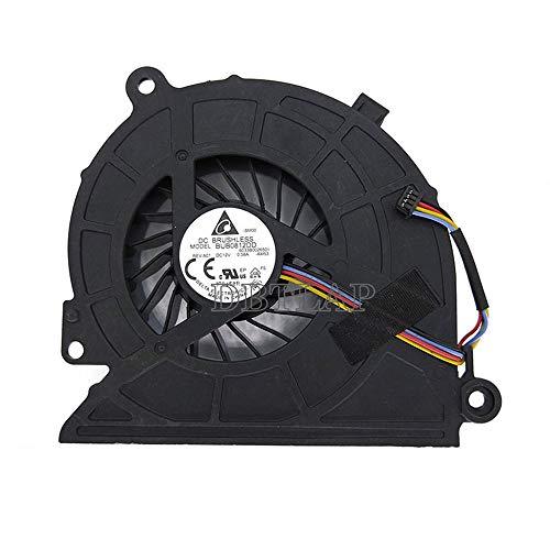 DBTLAP Ventilador de la CPU del Ordenador portátil para HP All-In-One 18-1000 18-1200CX 23-G013W Ventilador 6033B0026501 DFS651312CC0T FAHN 739393-001 BUB0812DD
