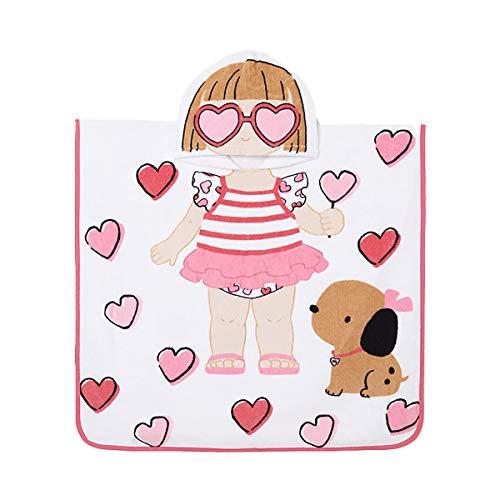 Mayoral Toalla de playa con capucha Newborn estampada bebé rosa inten 9917 Rosa Inten talla unica