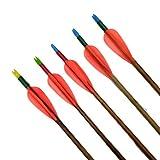 Avid Archery Cane Arrows 6 Arrow for Indian Bow   Archery Manipuri Bamboo