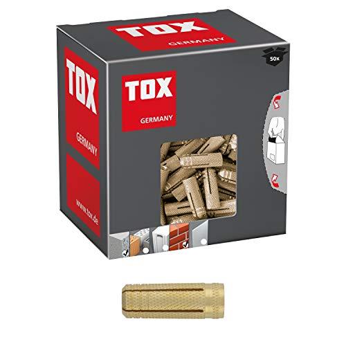 TOX Messing Spreizdübel Metrix M10 x 32 mm, 25 Stück, 026100151