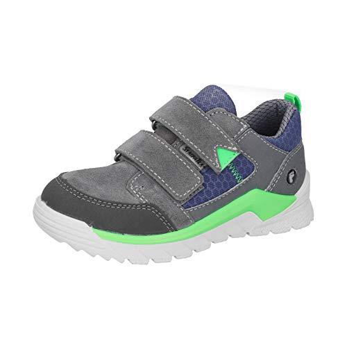 RICOSTA Sympatex - Zapatillas deportivas para niños (medianas (WMS), plantilla suelta, talla Sympatex, color Gris, talla 31 EU