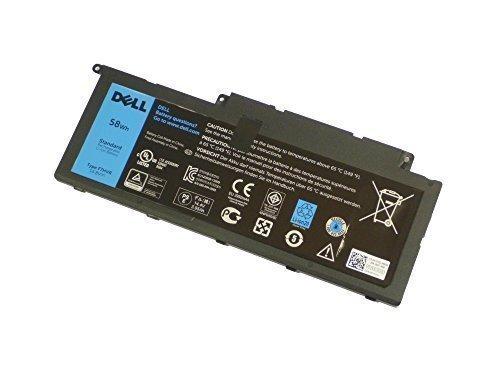 Original Dell Inspiron 15 7537 7737 7746 Batterie 14,8 V 58 Wh F7HVR Y1FGD
