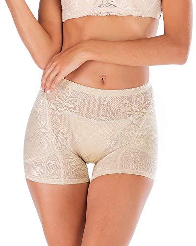 DODOING Women Padded Butt Lifter Underwear Pads Hip Enhancer Control Panties Shapewear Shaper Panty Nude