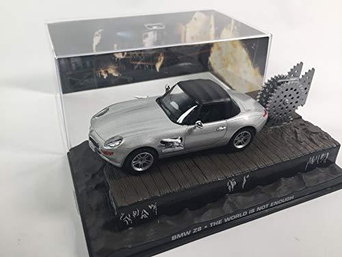 OPO 10 - Coche 1/43 Compatible con BMW Z8 James Bond 007: El Mundo no es Suficiente 1/43 (DY004)