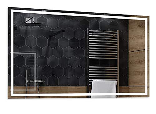 Alasta® - Espejo de Baño con Iluminación LED 100x80 cm | Cool LED Color | Atlanta Espejo K24