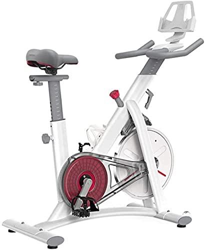 Cyclette a resistenza magnetica Cyclette da interno Bicicletta da casa/palestra Ciclismo con cardiofrequenzimetro Display LCD Sensori di pulsazione super silenziosi