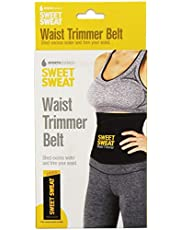 Sweet Sweat Premium Waist Trimmer, 1-size-fits-all with sample of sweet sweat workout enhancer cream