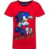 Sonic - Camiseta de manga corta para niño Multicolor 2 98-104 cm