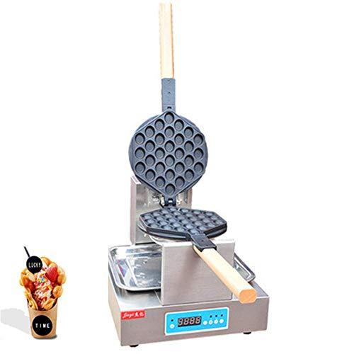 WEHOLY Werkzeug Küche Haushaltsindustrie Mikrocomputer Ei Waffeleisen Gewerbliche elektrische Antihaft-Eier Blasen Waffeleisen Digitalanzeige FY-6E (220V)