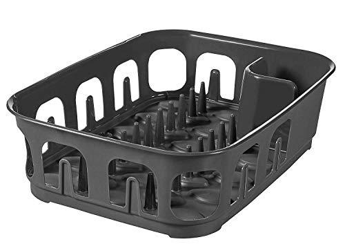 Curver Essentials - Escurreplatos rectangular para utensilios de cocina,...