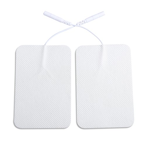 Pelvifine FDA Cleared High Quality Premium Non-woven 6 * 9cm Massage Electrode Pads, a Set of 20 Pcs (10 Pairs)