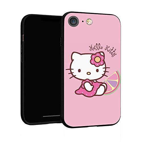 Funda para iPhone 6 Funda 6S Funda básica de plástico para iPhone 6 / 6S (Hello-Kitty-2)