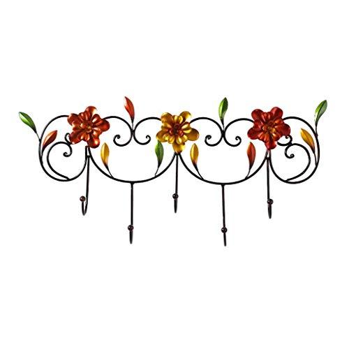 Kapstok Stand Kapstok wand gemonteerde Drijvende Kapstok Kapstok Iron Flower for de woonkamer Slaapkamer Porch Cafe Bar Winkel Traditie Modern gecombineerd in een slanke ruimtebesparend 30times; 62cm