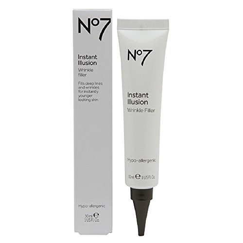 Boots No7 Instant Illusion Wrinkle Filler 1 oz. by BOOTS [Beauty] (English Manual)