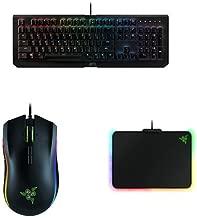 Razer BlackWidow X Chroma + Mamba Tournament Edition + Firefly Kit