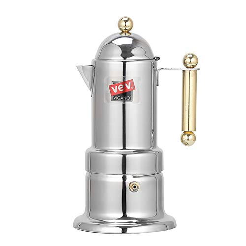 Austinstore Edelstahl Mokakanne Italienische Mokka Espressokocher Perkolator Topf Kaffee Extraktor multi