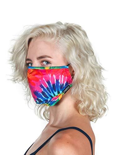 FYDELITY-Face Mask|Breathable Adjustable Comfortable Reusable Fabric|Rainbow Pride Tie Dye