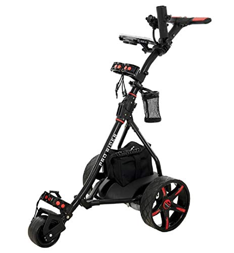 Electric Golf Trolley (Black & Red)