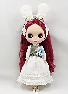 Studio one Rabbit Simple Pastoral Style Dress Accessories Cloth for Blythe Doll Best Gift