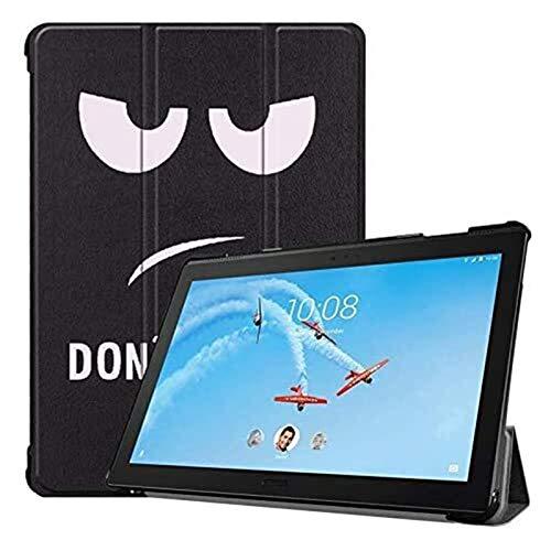 YNLRY TB-X705F/X705L - Funda para tablet Lenovo Tab P10 de 10,1 pulgadas, diseño de búho, mariposa, diente de león y torre Eiffel