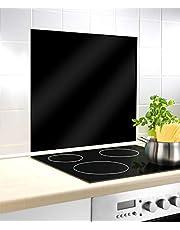 WENKO Fornuisafdekplaat, fornuisafdekking voor glaskeramische kookplaten, gehard glas.