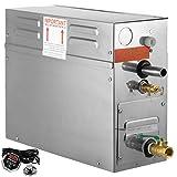 KAUTO Generatore di Vapore 4KW Generatore di Bagno Turco Display Digitale Generatore di Vapore Sauna Generatore di Vapore per Uso Domestico Kit generatore di Vapore Generatore di Bagno Turco
