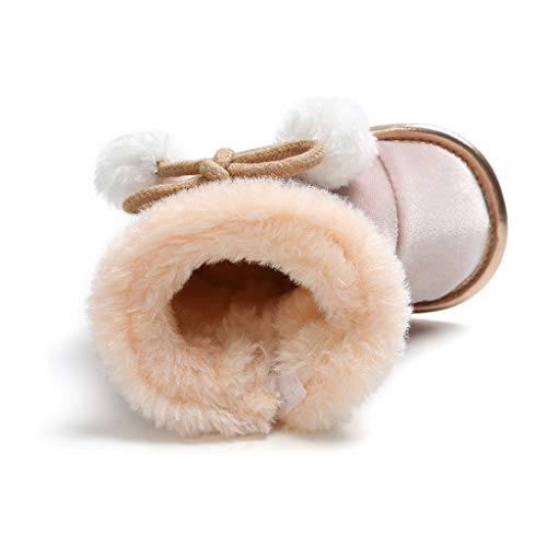 Snakell Baby schönen Herbst Winter warme weiche Sohle Schneeschuhe weiche Krippe Schuhkleinkind Stiefel Babyschuhe Baby Stiefel Schuhe weiche Sohle Stiefel Prewalker warme Lauflernschuhe Krippeschuhe