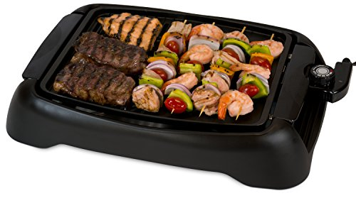 Smart Planet SIG‐1 Indoor Smokeless BBQ Grill, Black