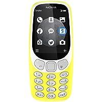 """Nokia 3310 2.4"""" 79.6g Negro, Gris, Amarillo Característica del teléfono - Teléfono móvil (Barra, SIM Doble, 6,1 cm (2.4""""), 2 MP, 1200 mAh, Negro, Gris, Amarillo)"""