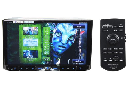 Pioneer AVH-P8400BH 2-DIN Multimedia DVD Receiver with 7-Inch Widescreen Touch Panel Display, Advanced App Mode, Built-In Bluetooth, and HD Radio (Pioneer Car Stereo With Sd Card Slot)