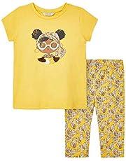 Mayoral Juego de mallas y camiseta para niña Mostarda 3741