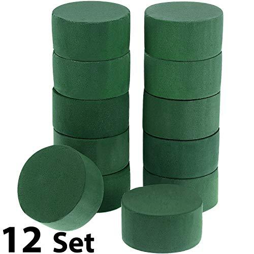 9x Ideal Floral Foam Wet Round or Cylinder shape Oasis Centerpiece Arrangement