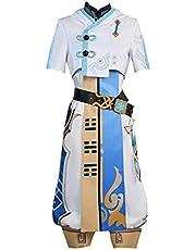 Anime Genshin Impact Cosplay Reiziger Chongyun Carnaval Halloween Kostuums Vrouwen Lolita Lumine Jurk Zoete Uniform Suits