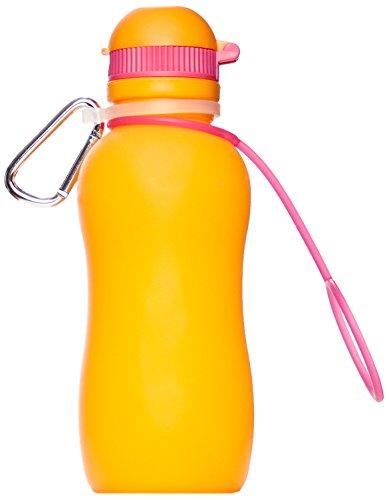 Zielonka Silikon Trinkflasche Viv Bottle 3.0, Orange, 300 ml, 59889