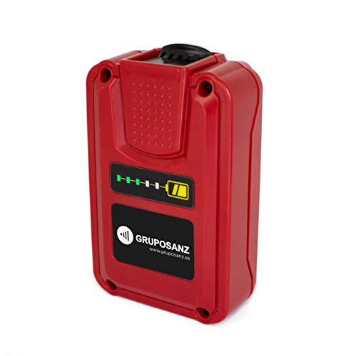 Pulmic Batería Litio 18V. Batería Externa. Recargable. Sin Efecto Memoria. Descarga Lineal. 26000mAh. Indicador del Nivel de Carga Luminoso