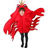 Child's King Crab Halloween Costume (Medium 7-10)