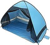 Queta Pop up Beach Tent Tenda da istantanea Spiaggia Portatile per 1-3 Persone Solare UPF 50+ Include Borsa Portabile