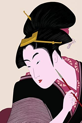Pintar por números para niños Adultos,Ukiyoe japonés 40x60cm,DIY Pintura al óleo Kit Lienzo de Bricolaje para la Decoración De La Casa