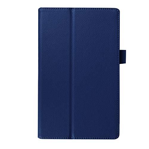 WindTeco Lenovo Tab3 8 / Tab 2 A8-50 Funda, Ultra Delgado Carcasa Case Cover con Función de Soporte para Lenovo Tab 3 8 (TB3-850F / TB3-850M) / Tab 2 A8-50 8,0 Pulgadas Tableta, Azul Oscuro