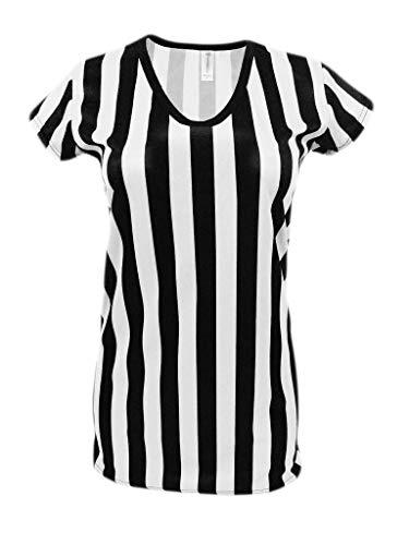 Mato & Hash Womens Referee Shirts   Comfortable V-Neck Ref Shirt for...