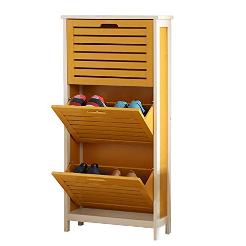 PIVFEDQX Zapatero, Base del gabinete de Zapatos Tipo Cubo, L53 * B18 * H108.5cm (Color: A)