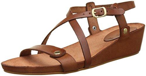 KickersTaste - Zapatos de Punta Descubierta Mujer , marrón (marrón (camel)), 40 EU