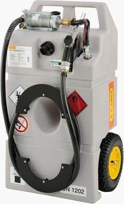 Diesel Mobile Tankanlage CEMO 100 L mit Handpumpe Trolley